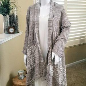 Paper Crane Oversized Cardigan Sweater